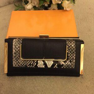 Último monedero de moda para mujer de gran tamaño con caja Gran regalo para todas las ocasiones