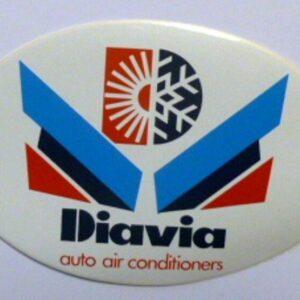 ADESIVO AUTO / Adhesivo DIAVIA AUTO AIRE ACONDICIONADO (cm 13 x 9)