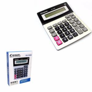 Calculadora electrónica de escritorio de oficina en casa de 12 dígitos de alta calidad y duradera Canuo