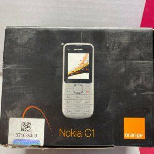 Nokia C1 Teléfono móvil Stock antiguo Colectores raros Teléfono móvil Celular GSM