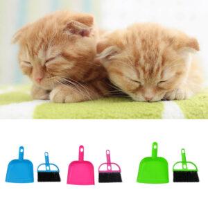 Pet Supplies Suit-Cepillo Pequeño Y Recogedor Mascotas Suministros De
