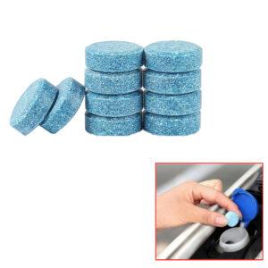 10 * Accesorios para tabletas efervescentes sólidas de limpieza de parabrisas de vehículos de coche