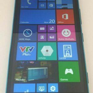 Desbloqueado Nokia Lumia 1320 Microsoft Windows Mobile Cell Phone 8GB Azul