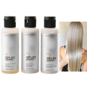 3pcs Oplex No Daño Productos para el tratamiento del cabello Colorante Blanqueador Cuidado del cabello Herramienta