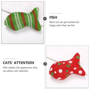 6 piezas para mascotas, juguetes realistas interesantes para rascar gatos para mascotas