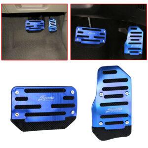 Accesorios automáticos antideslizantes para coche Acelerador de cubierta de almohadilla de pedal de freno de gas