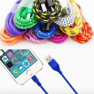 Cable de carga del cargador de datos USB del teléfono celular para iPod iPhone5 5S iPhone6 6Plus EE. UU.