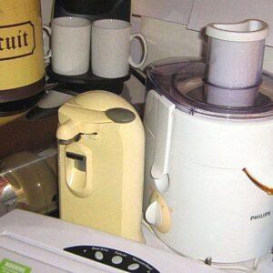ELECTRODOMÉSTICOS DE COCINA Y OTROS: haga clic en SELECCIONAR para ver los artículos INDIVIDUALES