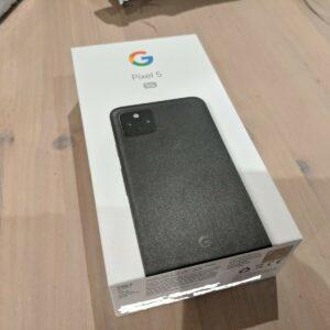 Google Pixel 5 - 128 GB - Simplemente negro (desbloqueado) - GTT9Q - Teléfono móvil