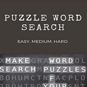 Libros Búsqueda de palabras: ¿Puedes encontrar todas las palabras? Puz (Importación USA) BOOK NUEVO