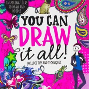 Libros Parragon (Cor): ¡Puedes dibujarlo todo!  (Importación USA) RESERVAR NUEVO