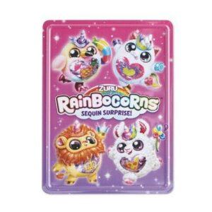 Libros / pegatinas y póster de Rainbocorns Activity Tin Inc para niños * nuevo *