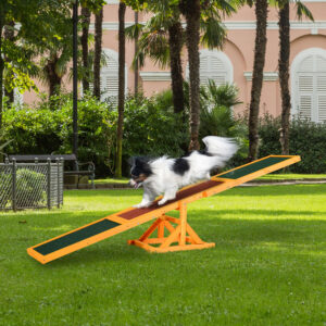 Mascota Balancín Actividad Deporte Entrenamiento de perros Agilidad Obediencia Juguete Suministros para mascotas