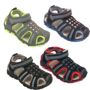 Niños Sandalias al aire libre Niños Casual Confort Verano Playa Caminar Zapatos deportivos Tamaño