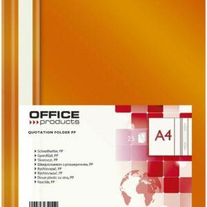 PRODUCTOS DE OFICINA 21101111-07 Schnellhefter - A4, PP, naranja