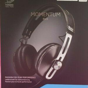 Sennheiser Momentum M2 AEi Auriculares con cable negros * Alrededor de la oreja * Caja abierta sin usar