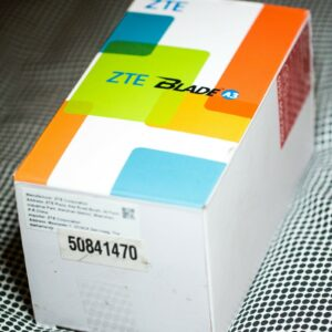 Smartphone ZTE Blade A3 (2019), apenas usado, en caja con accesorios, Vodafone
