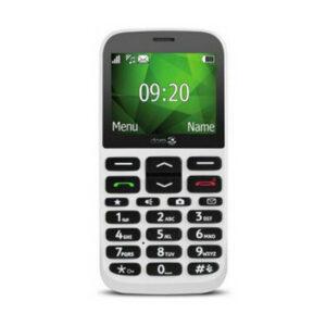 TELÉFONO MÓVIL BLANCO VODAFONE DORO 1370 - ¡A ESTRENAR / EN CAJA!