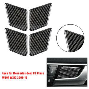 Tazón de la etiqueta engomada del coche para los accesorios de Mercedes-Benz CE Class W204 W212 2009-15