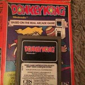 cartucho de videojuego donkey kong para el sistema informático de video atari 2600