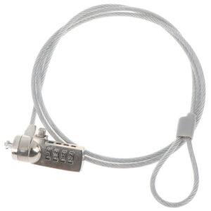Cadena antirrobo de la cerradura de la computadora de la contraseña de la seguridad de 4 dígitos para la PC portátil Lapt * ws