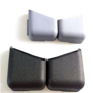 2 * Soporte de caja de bolsa de almacenamiento de organizador de teléfono de accesorios de coche negro general