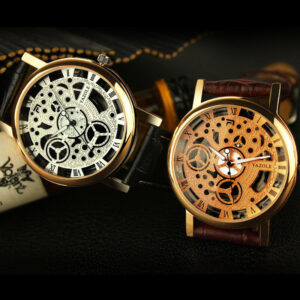 2016 YAZOLE Relojes Hombres Reloj Reloj de pulsera de cuarzo Reloj de cuarzo de moda CUERO S