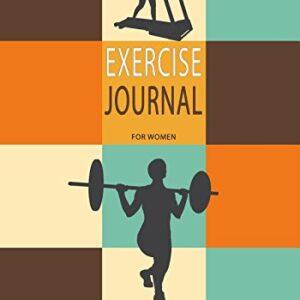 Diario de ejercicios para mujeres: registro de ejercicios de revistas, libros en blanco 'N' 1979469652