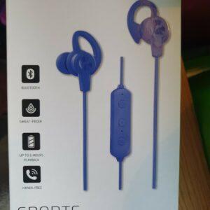 Goodmans sports auriculares inalámbricos auriculares azul nuevo