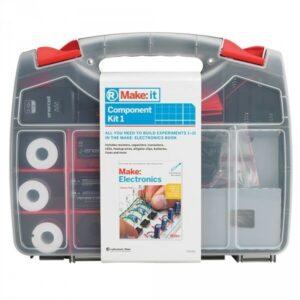 Make Electronics 1st ed Book o RadioShack Marca: IT Component Pack / Kit 1 o 2
