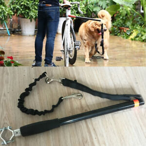 Suministros para mascotas Bicicleta Perro Bungee Leash Walk Lead Universal Removible Jogging Head