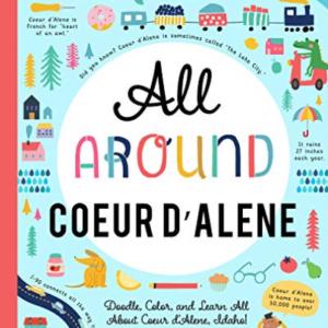 You Are Here Books-All Around Coeur Dalene (Importación USA) BOOK NUEVO