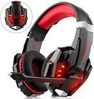 Auriculares para juegos para Xbox One, PS4, controlador de PC, cancelación de ruido DIZA100 sobre ...