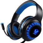 Auriculares estéreo profesionales para juegos para PS4 PC Xbox One SX Controlador de interruptor de Nintendo y