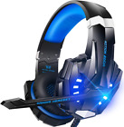 BENGOO G9000 Auriculares estéreo para juegos para PS4, PC, Xbox One Controller, Noise Over