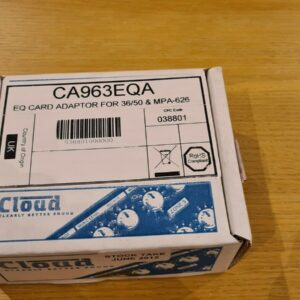 3x tarjetas adaptadoras Cloud Electronics EQ