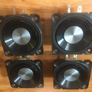 Altavoces de alta calidad de 8 ohmios ideales para sonidos envolventes / BBC Speech.