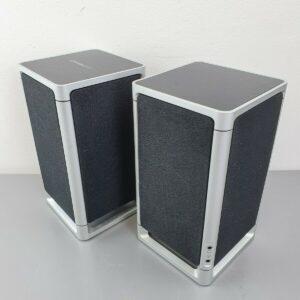 Altavoces estéreo SIMPLE AUDIO LISTEN ™ con Bluetooth y pantalla táctil