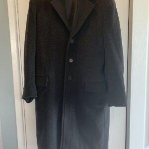Ambassador Fashion Abrigo largo para hombre