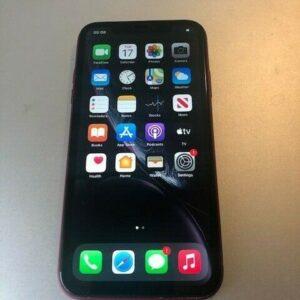 Apple iPhone XR - 64GB - Teléfono inteligente ROJO (VODA) - Buen estado