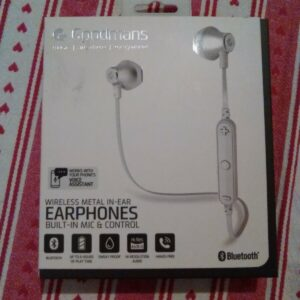 Auriculares deportivos inalámbricos Bluetooth Goodmans - Blanco