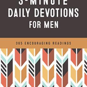 Barbour Staff-Devociones diarias de 3 minutos para hombres (Importación USA) BOOK NUEVO