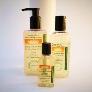 CHAMPÚ DE TOMIL DE REFERENCIA Y GEL WASH: productos orgánicos hechos a mano para el cuidado del cabello de New Dawn