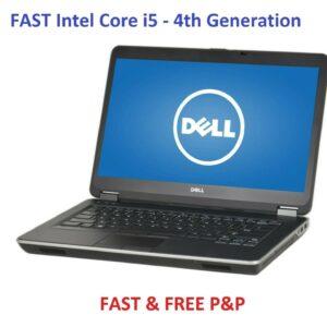 COMPUTADORA PORTÁTIL PARA JUEGOS DELL Lattitude E6440 Core i5 480GB SSD Cuarta generación portátil Windows 10