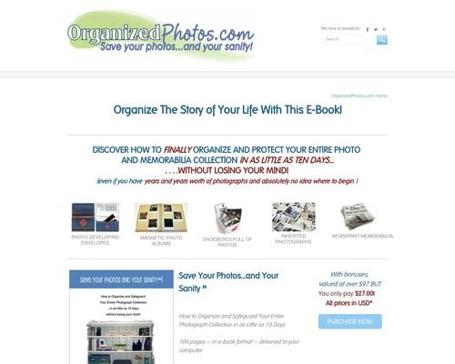 Cómo organizar fotos y recuerdos - Fotos organizadas