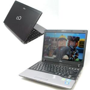 "Computadora portátil Fujitsu P702 Gaming barata Intel I3 2.4Ghz 8GB 480GB SSD Webcam10 12.1 """