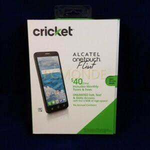 Cricket Alcatel OneTouch Flint 4G LTE 5.5-in HD IPS 16GB Teléfono celular