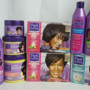 Dark & Lovely Hair Care Products Champú, acondicionador, relajante ** GAMA COMPLETA **