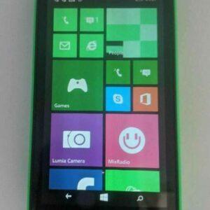 Desbloqueado Nokia Lumia 530 Microsoft Windows Mobile Cell Camera Phone 4GB Verde