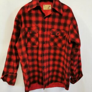 Fieldmaster outdoor wear vintage flanell hemd rot karriert Gr.L QA002